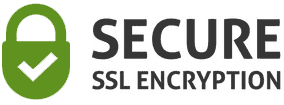 Your credit card information is protected by bank level SSL encryption.